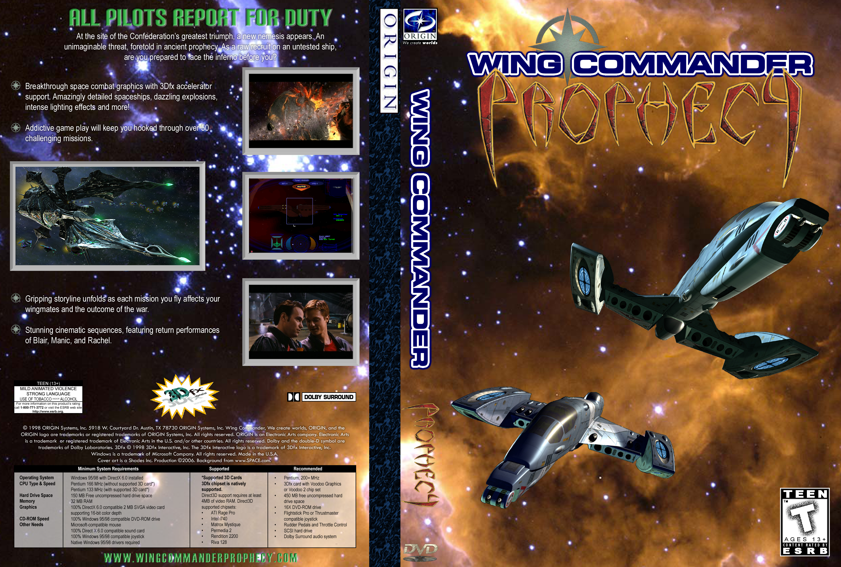 News of august 11 2007 wing commander cic for Wing commander prophecy